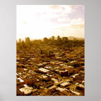 Fullsatt San Francisco Poster