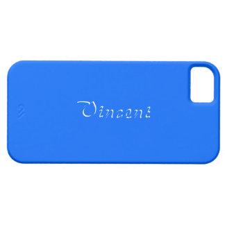 Fullt fodral för blåttiPhone 5 för Vincent iPhone 5 Case-Mate Fodral