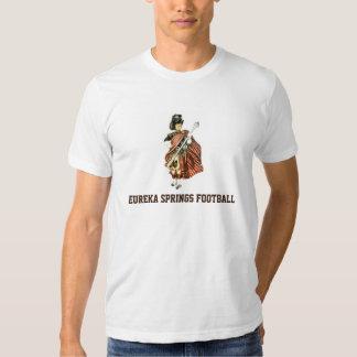 Fundraiser för Eureka Springs Highlanderfotboll Tee Shirt