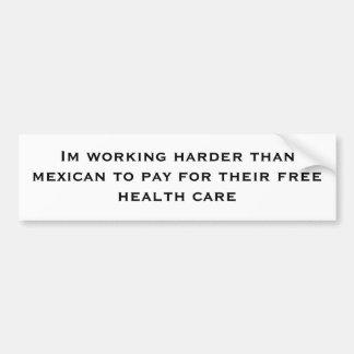 Funktionsduglig mer hård Im än en mexikan att beta Bildekal