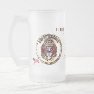 Funktionsirakier Frihet-USA Frostat Ölglas