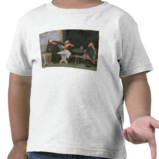 Funnit ut olja på kanfas en av parar - se 19572 t-shirt
