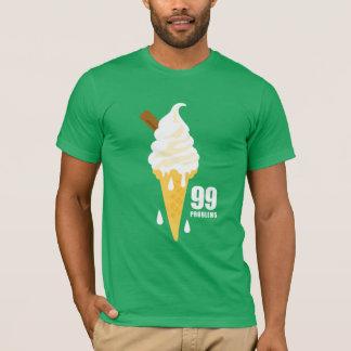 Funny bold summer icecream graphic illustration tshirts