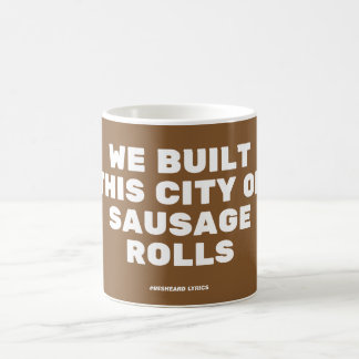 Funny typographic misheard song lyrics kaffemugg