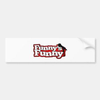 Funnys rolig logotypsaker bildekal