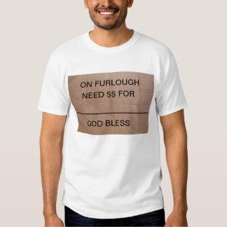 """Furlough undertecknar """"den Fundraiser"""" skjortan Tröja"""