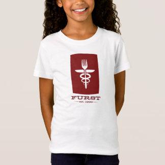 Furst 50th årsdag - rött stort för unge t-shirts