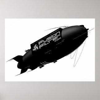 FusionFilter Airship Poster