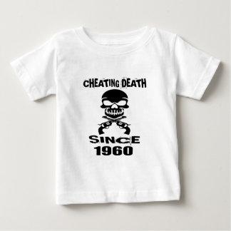 Fuskdöd sedan 1960 födelsedagdesigner tröja