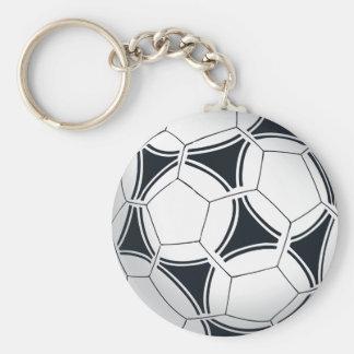 Futbol fotbollboll rund nyckelring