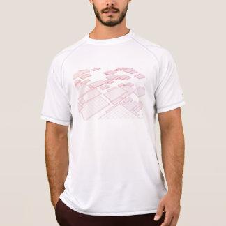 Futuristiskateknologi som en nästa generationkonst t-shirt