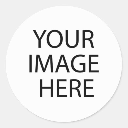 Fyll klistermärkemallen rund klistermärke