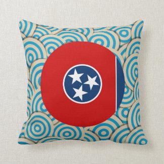 Fylld roligt, rundaflagga av Tennessee Kudde