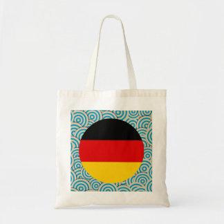 Fylld roligt, rundaflagga av Tysklandet Tygkasse
