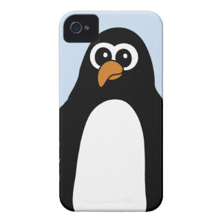 Fyllig pingvin Case-Mate iPhone 4 case