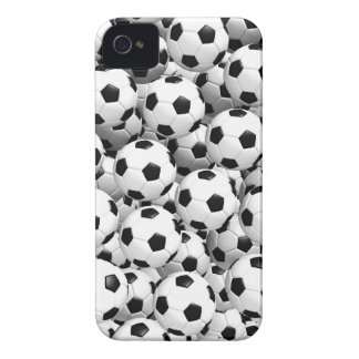Fyllt med fotbollbollar iPhone 4 skydd