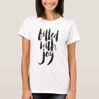 Fyllt med glädje t-shirt