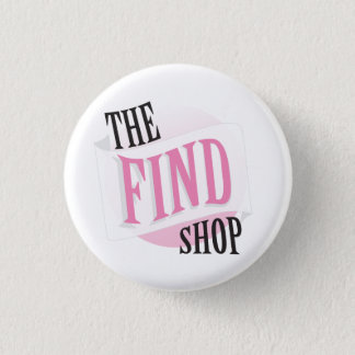 Fyndet shoppar knäppas mini knapp rund 3.2 cm