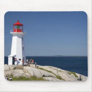 Fyr på Peggys Cove, Nova Scotia, Kanada Musmatta