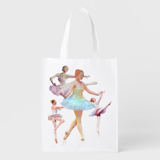 Fyra Ballerinas i fyra placerar anpassade Återanvändbar Påse