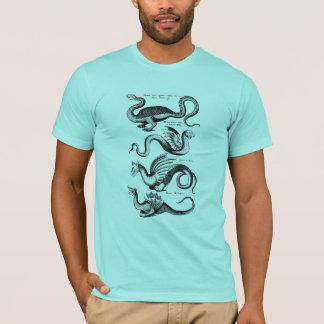 Fyra drakar från Mythology Tee Shirt