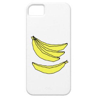 Fyra gula Bananas. iPhone 5 Case-Mate Cases