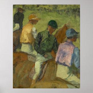 Fyra Jockeys Poster