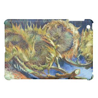 Fyra klippta solrosor av Van Gogh iPad Mini Mobil Skal