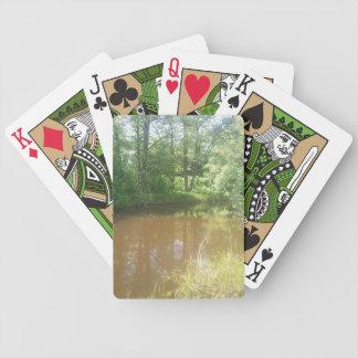 Fyrisån om sommaren spelkort
