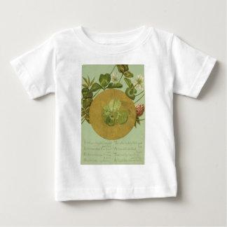 Fyrklövert st patrick's daykort för vintage tee shirt