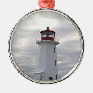 FyrprydnadPeggys Cove Nova Scotia Julgransprydnad Metall