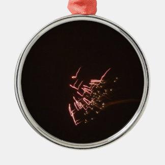 Fyrverkerier 2 julgransprydnad metall