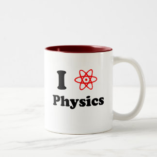 Fysik Två-Tonad Mugg