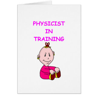 fysikbebis hälsnings kort