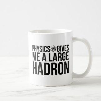 Fysiken ger mig en stor Hadron Kaffemugg