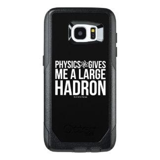 Fysiken ger mig en stor Hadron OtterBox Samsung Galaxy S7 Edge Skal