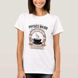 Fysiken ha som huvudämne tankat av kaffe t shirt