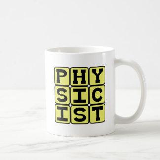 Fysiker forskare av fysik kaffemugg