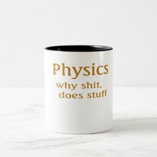 Fysikhumor Två-Tonad Mugg