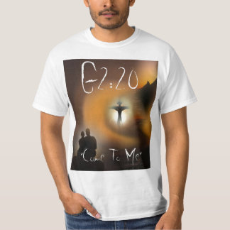 """G2: 20 """"kom till mig """", t shirt"""