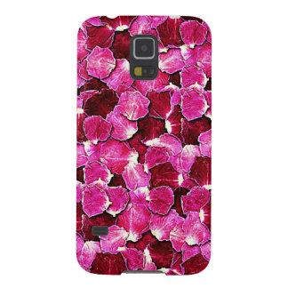 G för rosa för rosor för Petalsblomma underbart Galaxy S5 Fodral