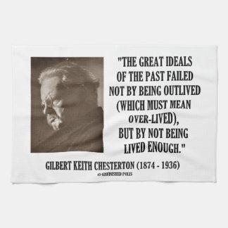 G.K. Chesterton underbara ideal av den inte-bodde Handhandukar