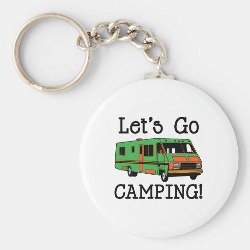 Gå att campa nyckel ring