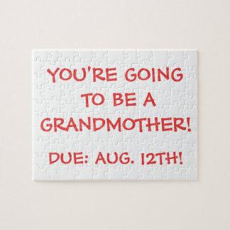 """""""Gå att vara en farmor!"""", Pussel"""