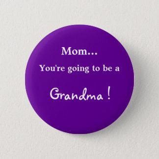Gå att vara en mormor! standard knapp rund 5.7 cm