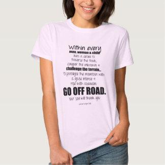 Gå av vägen.  Din ska soul tackar dig Tshirts