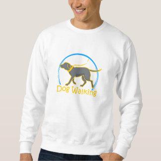gå för hund sweatshirt