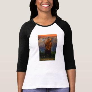 Gå grizzlyen tillbaka till Colorado kvinna T Shirts