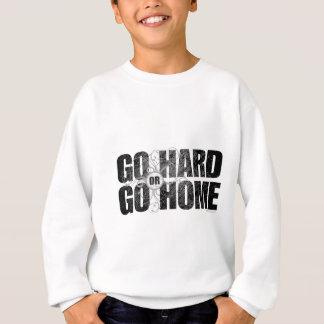 Gå hårt eller gå hem t-shirt