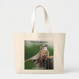 Gå i flisor Sparrowtoto hänga lös Jumbo Tygkasse
